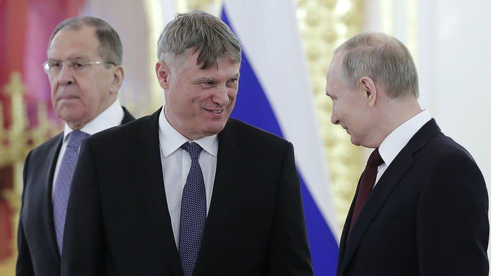 Moskva, 5. februar 2020.