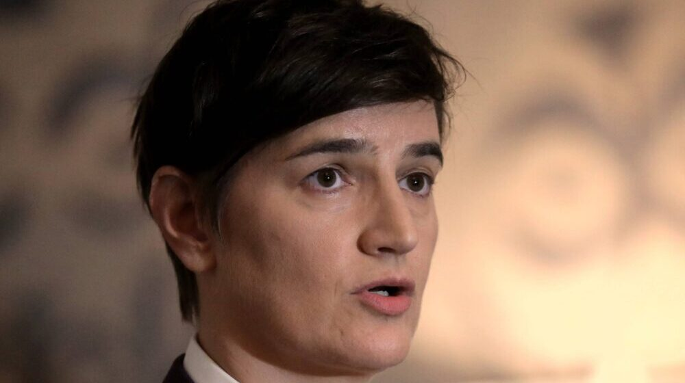 Brnabić: Imamo dokaze da je neko koristio svoj uticaj da Koluviji kaže da optuži Andreja Vučića 1