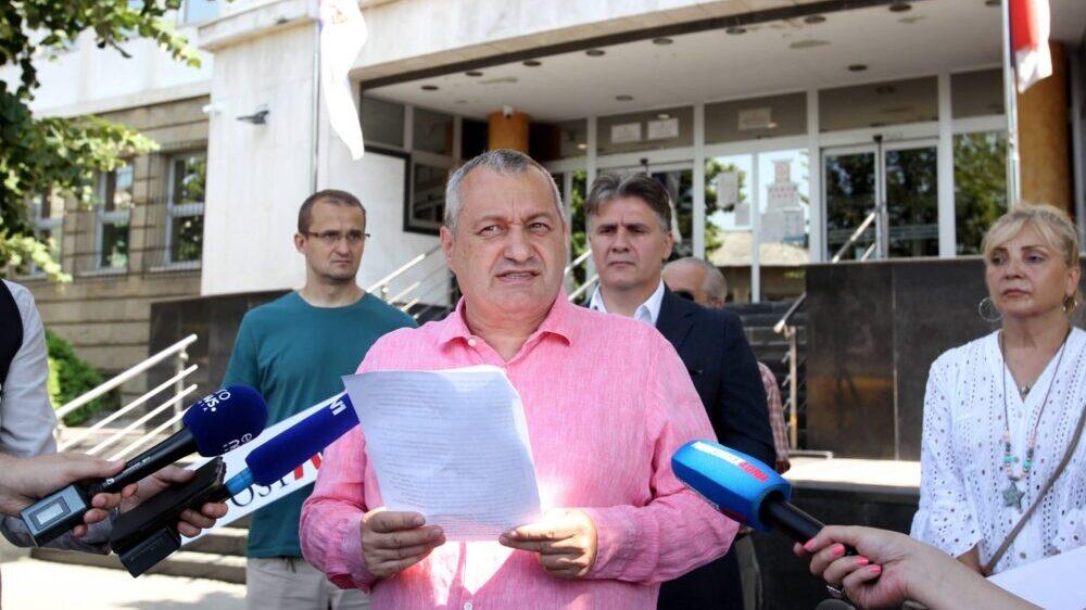 Milivojević (DS): Da li će Vučevićeva krivična prijava imati prioritet u odnosu na prijave opozicije? 1