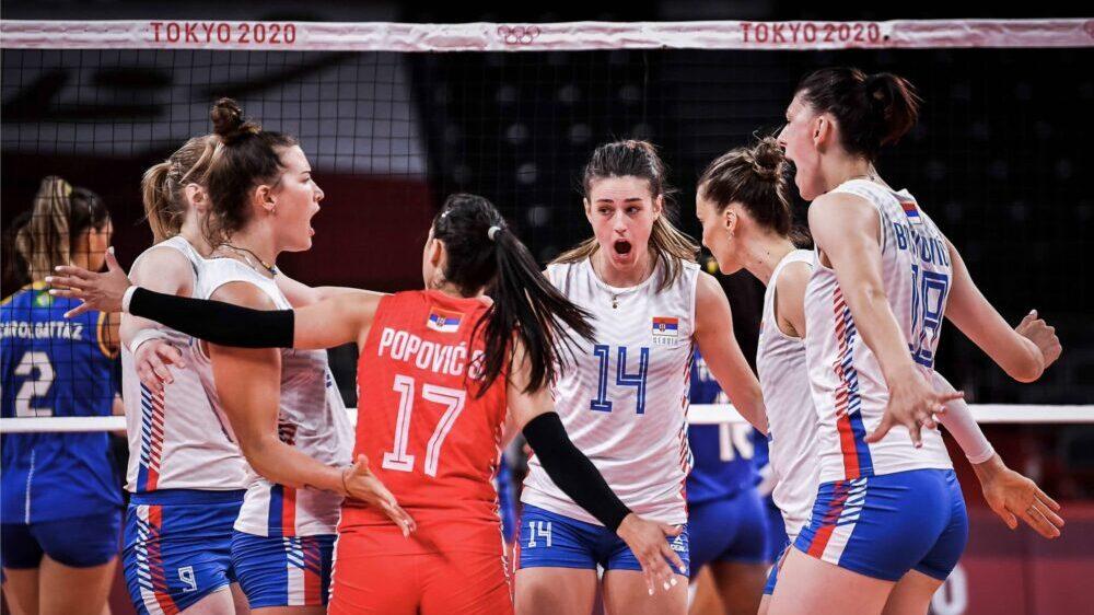Odbojkašice Srbije u polufinalu Olimpijskih igara u Tokiju 1