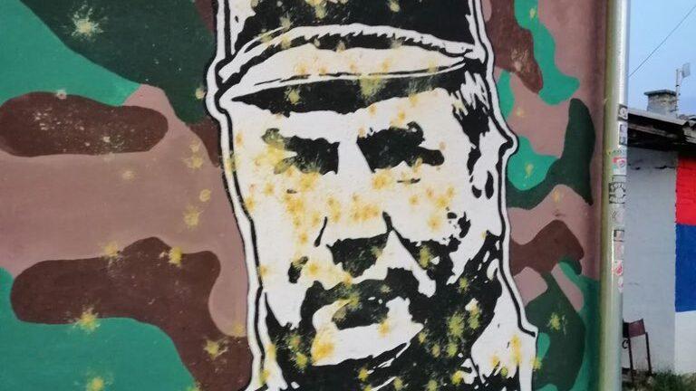 Mlada Vojvodina uništila mural sa likom Ratka Mladića 1