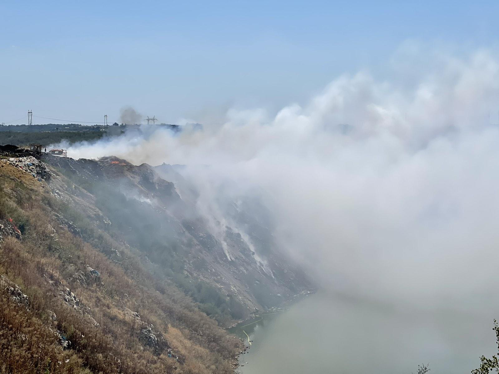 Bor: Proglašena vanredna situacija zbog požara na gradskoj deponiji 3