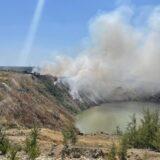 Bor: Proglašena vanredna situacija zbog požara na gradskoj deponiji 5