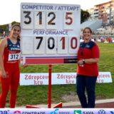 Srpska atletičarka Adriana Vilagoš postavila svetski rekord u bacanju koplja za mlađe juniorke 7
