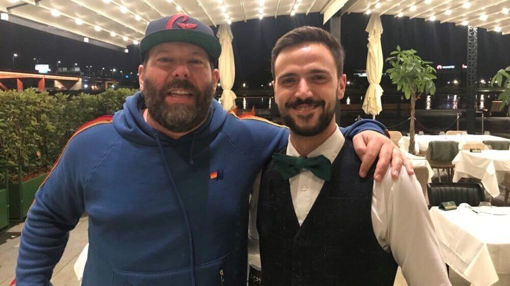 Osmeh se vratio u grad: Čuveni komičar u poseti Beogradu i restoranu Supreme Steak 1