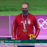 Milenku Sebiću bronza u disciplini malokalibarska puška trostav na OI u Tokiju 12
