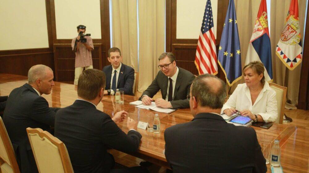 Vučić sa američkim kongresmenima o bilateralnim odnosima i situaciji u regionu 13