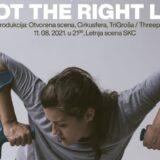 """Predstava """"Not the right leg"""" na Letnjoj sceni kragujevačkog SKC-a 9"""