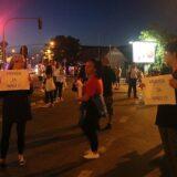 """Još jedan protest """"Pravda za Ninu"""", blokiran saobraćaj u Petrovaradinu 1"""