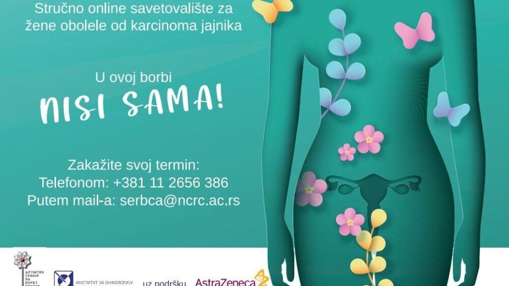 Pokrenuto prvo Stručno online savetovalište za žene obolele od karcinoma jajnika 13