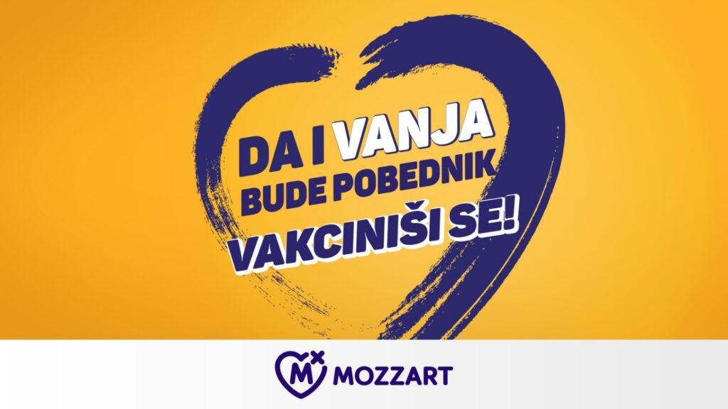 """Vakciniši se i pomozi maloj Vanji – FSS, Grad i Mozzart u humanitarnoj akciji uoči meča """"Orlova"""" 3"""