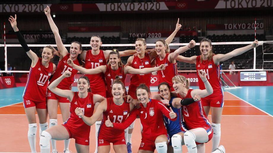 Odbojkašice Srbije rutinskom pobedom nad Južnom Korejom osvojile bronzu na OI 1