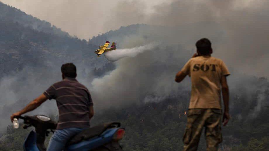 Šumski požari besne širom Turske 1