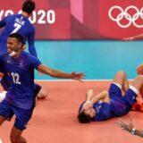 Prva olimpijska medalja za odbojkaše Francuske 7