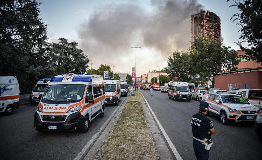 Izgoreo soliter u Milanu, nema podataka o žrtvama 1