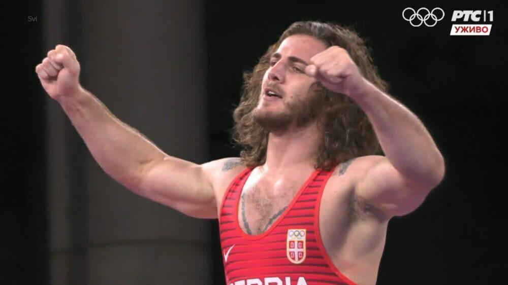 Šesta medalja za Srbiju: Rvač Zurabi Datunašvili osvojio bronzu na OI 1