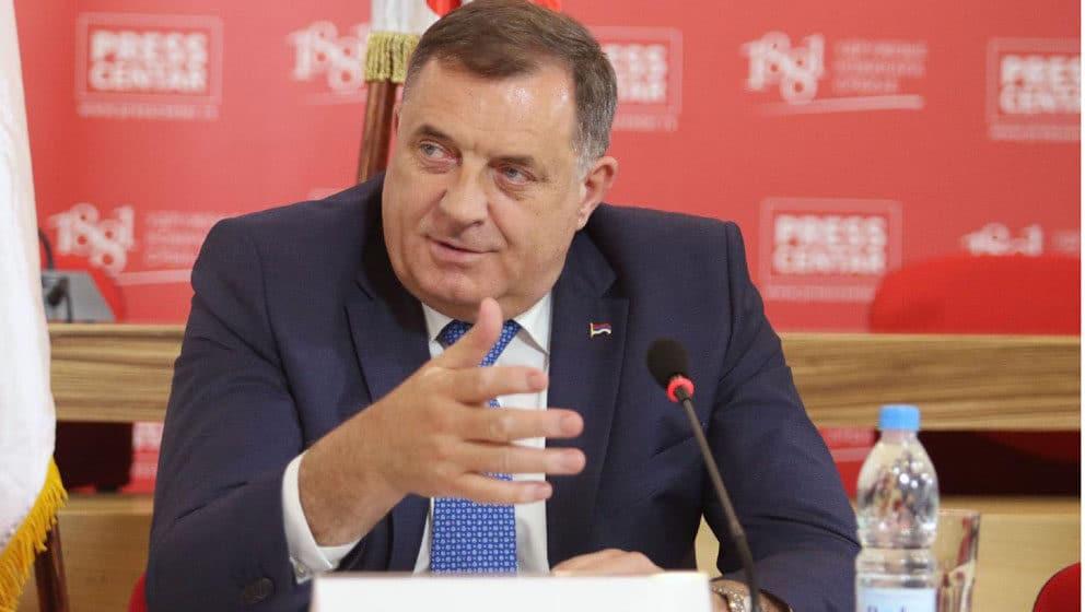 Dodik: Srpski poslanici će bojkotovati rad Predstavničkog doma Parlamentarne skupštine BiH 1