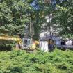 U Bajinoj Bašti se gradi prvi Park ćirilice 15