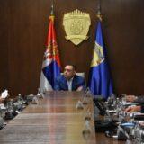 """Ministar Vulin sa predstavnicima """"Crvene zvezde"""" i """"Partizana"""" o merama bezbednosti za predstojeći 165. derbi 14"""