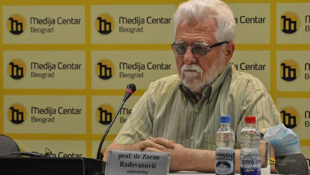 Radovanović: Nametnuti obaveznu vakcinaciju zdravstvenih radnika, policije i vojske 1