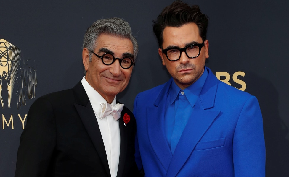 Eugene and Dan Levy