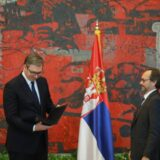 Novi šef delegacije EU Emanuele Žofre uručio akreditivna pisma Vučiću 11