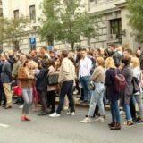 Protest advokata ispred VKS, najavljuju potpunu obustavu rada 8