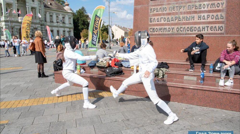 U Zrenjaninu počela nacionalna nedelja sporta 1