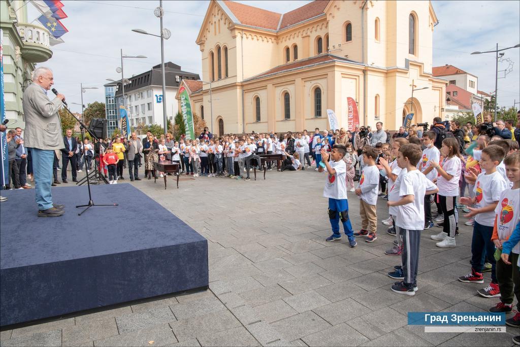 U Zrenjaninu počela nacionalna nedelja sporta 2