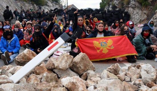 Tužilaštvo ispituje postupanje i policije i građana na Cetinju 5. septembra 13