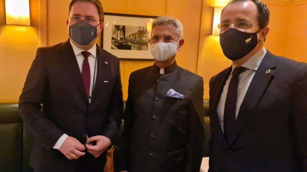 Selaković u Njujorku sa šefovima diplomatija Kipra i Jermenije 1