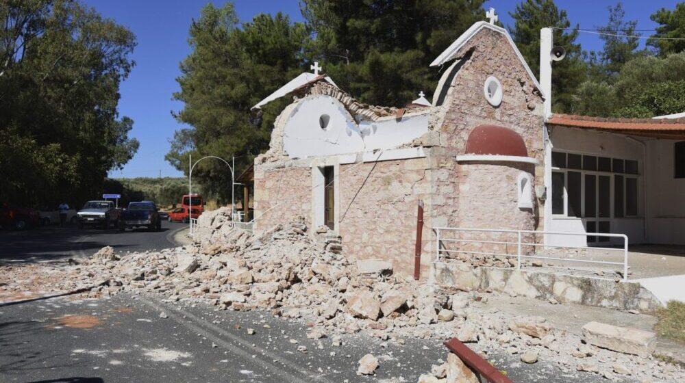 Potres magnitude 5,8 pogodio Krit, stradala jedna osoba, 11 povređeno 1