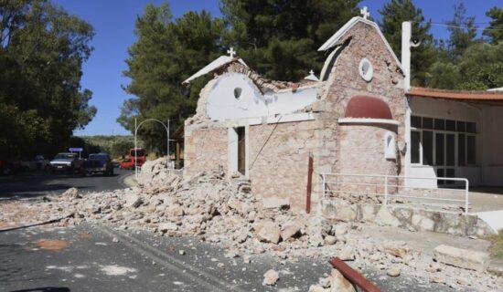 Potres magnitude 5,8 pogodio Krit, stradala jedna osoba, 11 povređeno 10