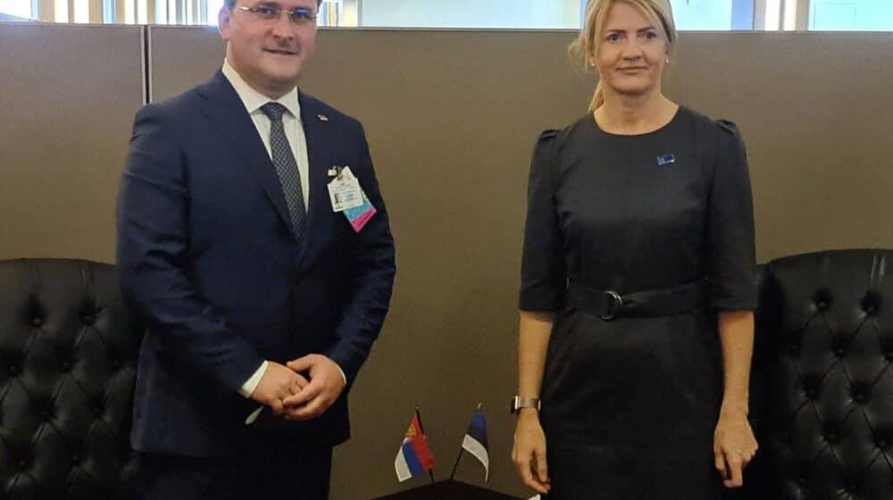 Selaković u Njujorku sa šefovima diplomatije Estonije i Tunisa 1