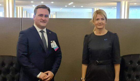 Selaković u Njujorku sa šefovima diplomatije Estonije i Tunisa 13