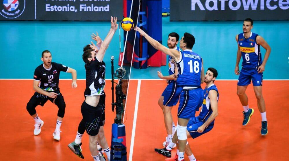 Italija posle pet setova pobedila Sloveniju i osvojila Evropsko prvenstvo 1
