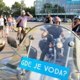 Zrenjanin: Kažnjeni zbog bine na protestu za vodu 1