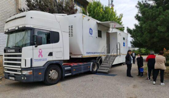 U Vranju zakazano 114 pregleda dojke na mobilnom Digitalnom mamografu 13