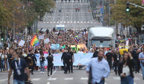 Nekoliko hiljada učesnika na Prajdu u Beogradu, Bekvalac: I ja sam deo LGBT zajednice 1