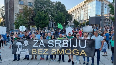 Protest zbog zagađenja vazduha: Ovo je borba za zdravlje Srbije 8