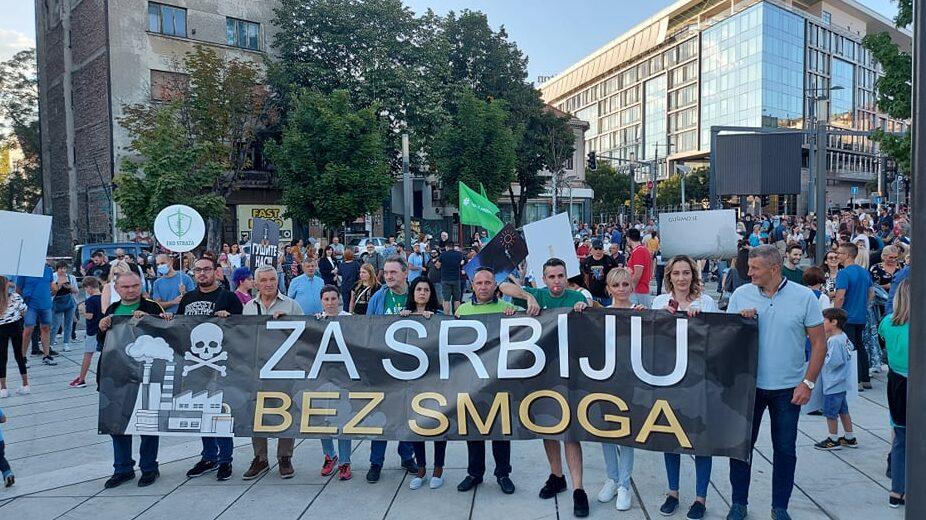 Protest zbog zagađenja vazduha: Ovo je borba za zdravlje Srbije 1