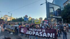 Protest zbog zagađenja vazduha: Ovo je borba za zdravlje Srbije 7