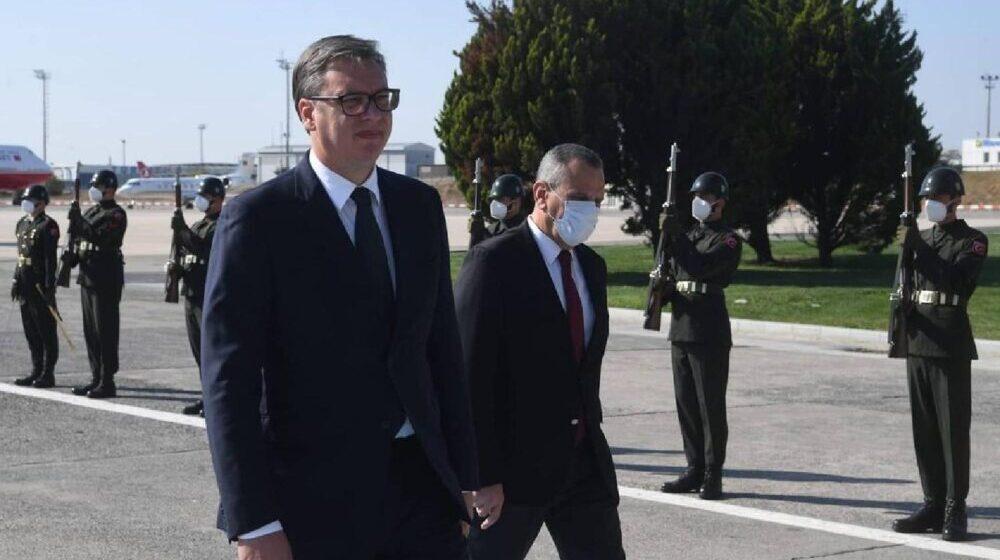 Vučić stigao u Tursku 1