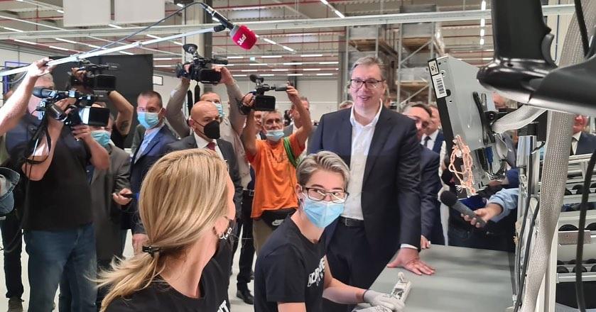 Nastavnicima naloženo da dođu na otvaranje fabrike u Svilajncu 1