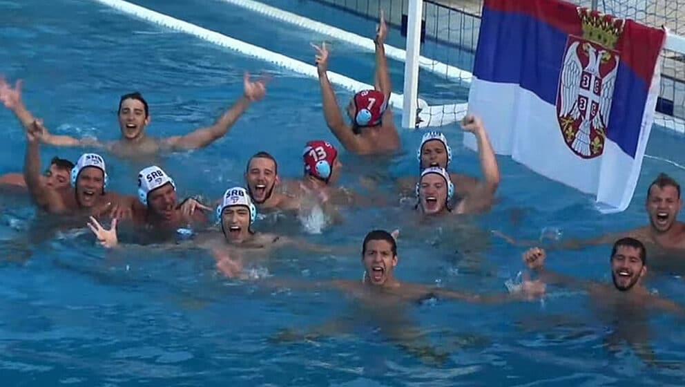 Mladi vaterpolisti Srbije u polufinalu Evropskog prvenstva 1