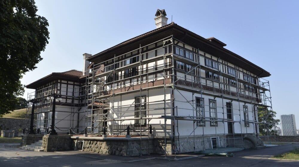 Počela restauracija fasada na zgradi Zavoda za zaštitu spomenika kulture Beograda 1