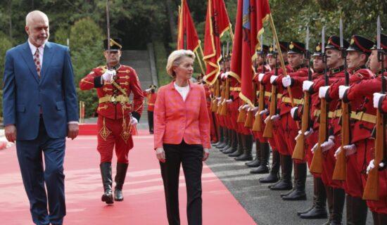 Ursula fon der Lajen posle sastanka sa Ramom: Budućnost Albanije je u EU 13