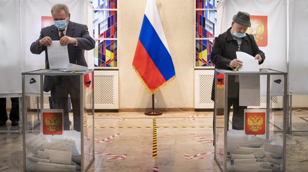 Delimični rezultati: Jedinstvenoj Rusiji 43 odsto glasova na parlamentarnim izborima 1