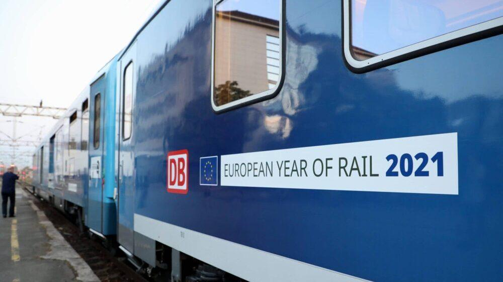 Međunarodni voz Connecting Europe Express stigao u Beograd 1
