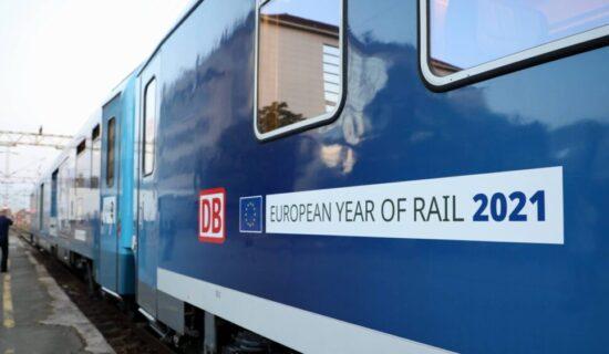 Drastično smanjenje broja putnika u vozovima u EU 13